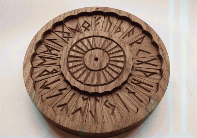 Рунический круг Футарка: значение, изготовление и активация