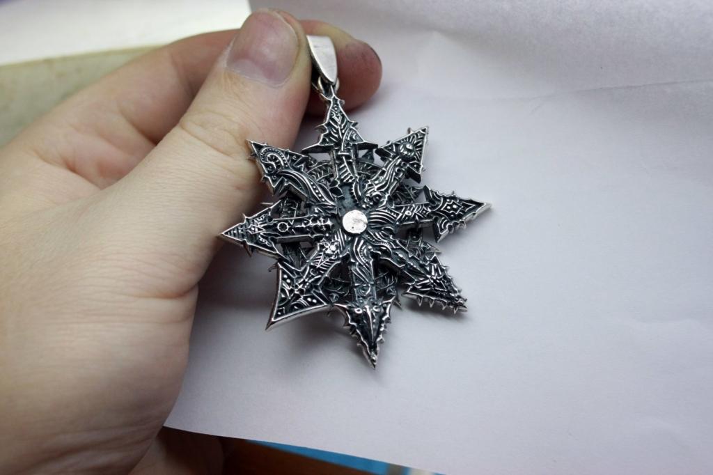 Звезда Хаоса: значение восьмиконечного амулета, описание и история происхождения символа, и как правильно его носить?